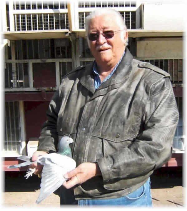 Champion Pigeon Racing Fancier Chris Smith
